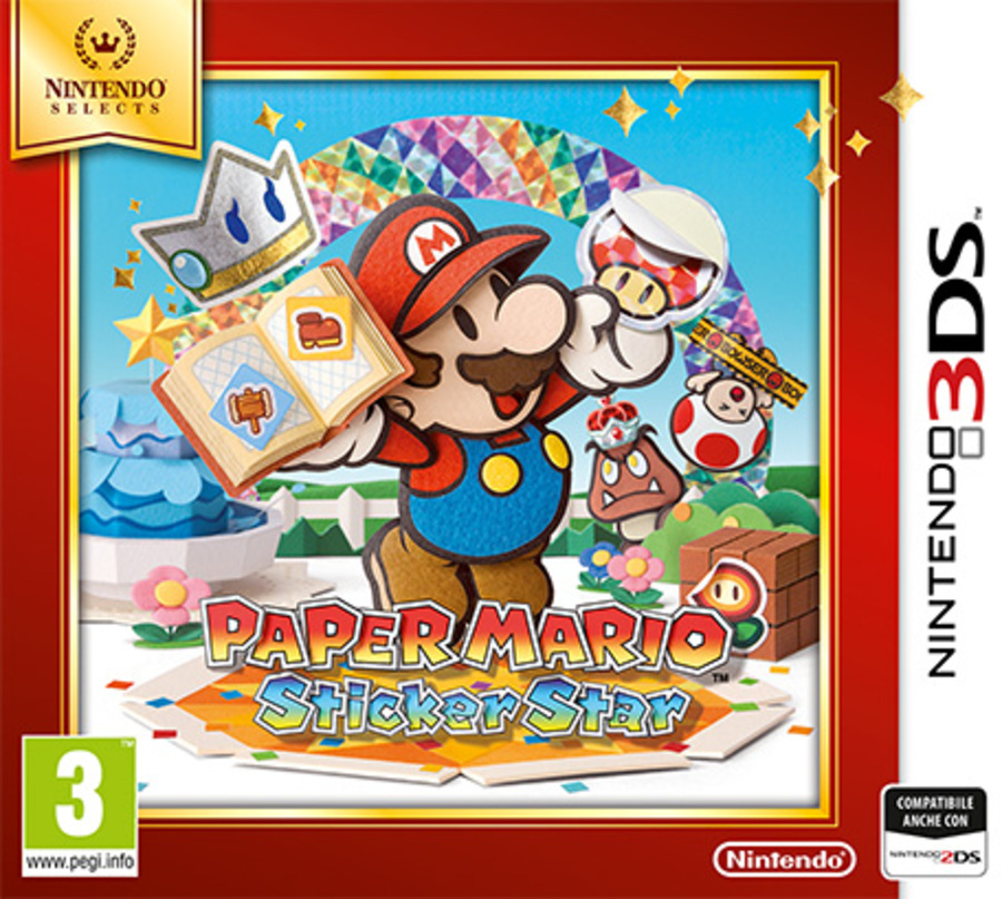 NINTENDO 3DS Paper Mario Sticker Star Se