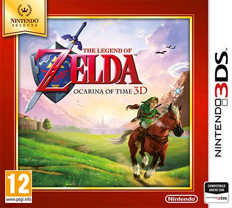 NINTENDO 3DS The Legend of Zelda Ocarina