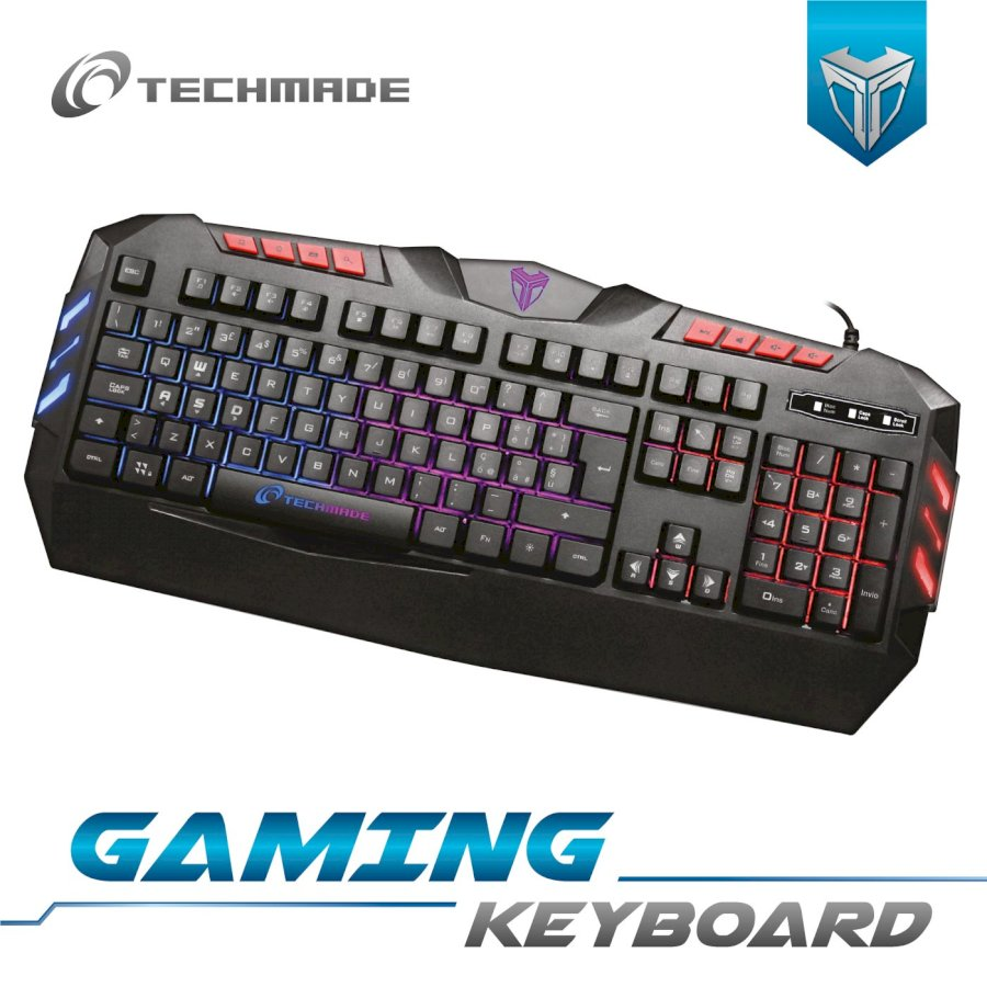 TECHMADE TASTIERA GAMING USB