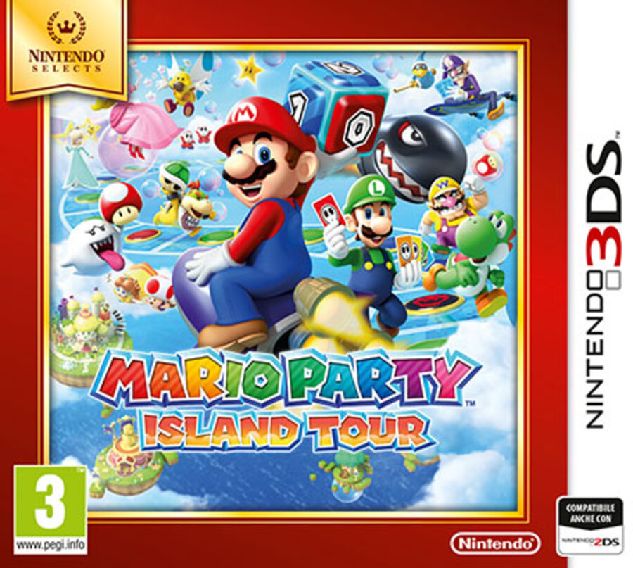 NINTENDO 3DS Mario Party Island Tour Sel