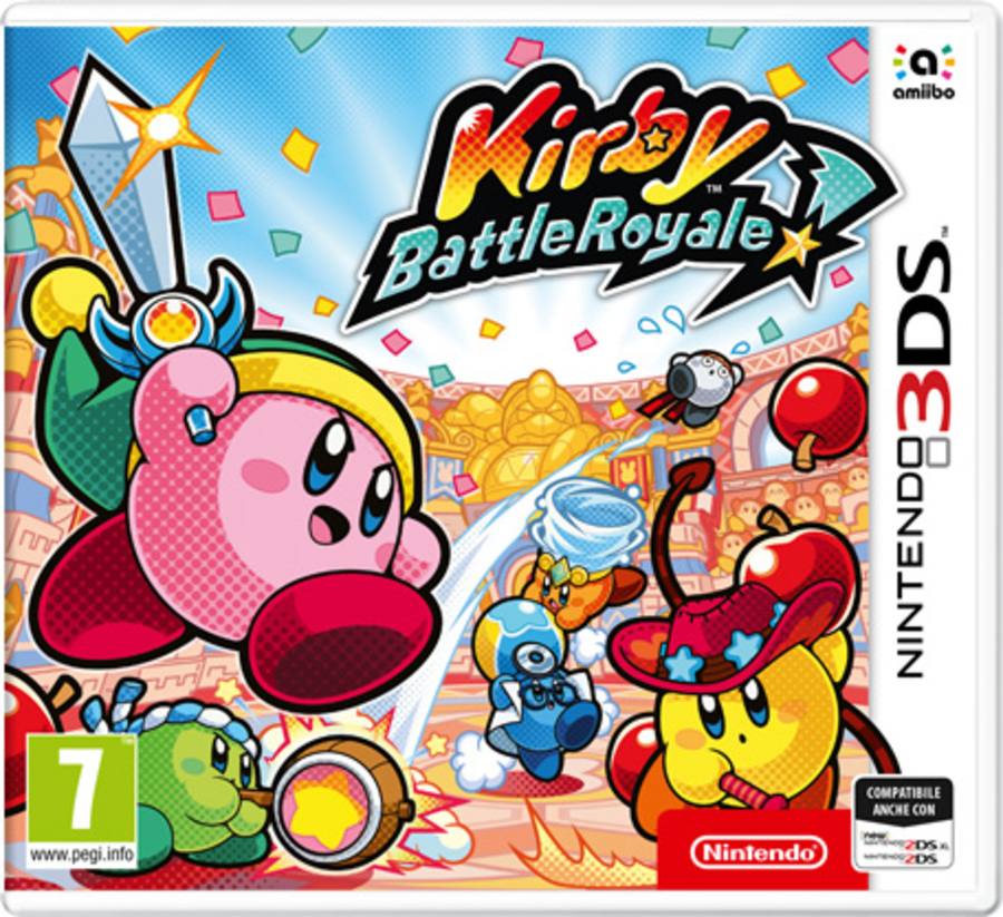 NINTENDO 3DS Kirby Battle Royale