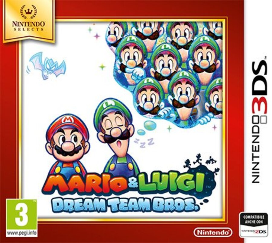 NINTENDO 3DS Mario&Luigi Dream Team Sel.