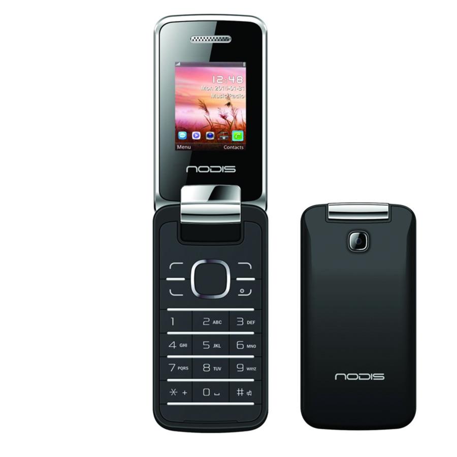Nodis telefono cellulare nc 20 black nodis mobile for Mobile telefono